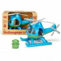 Helicoptero azul Green Toys